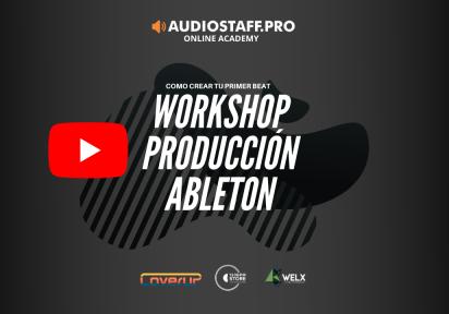 WORKSHOP – Tu primer beat en Ableton Live