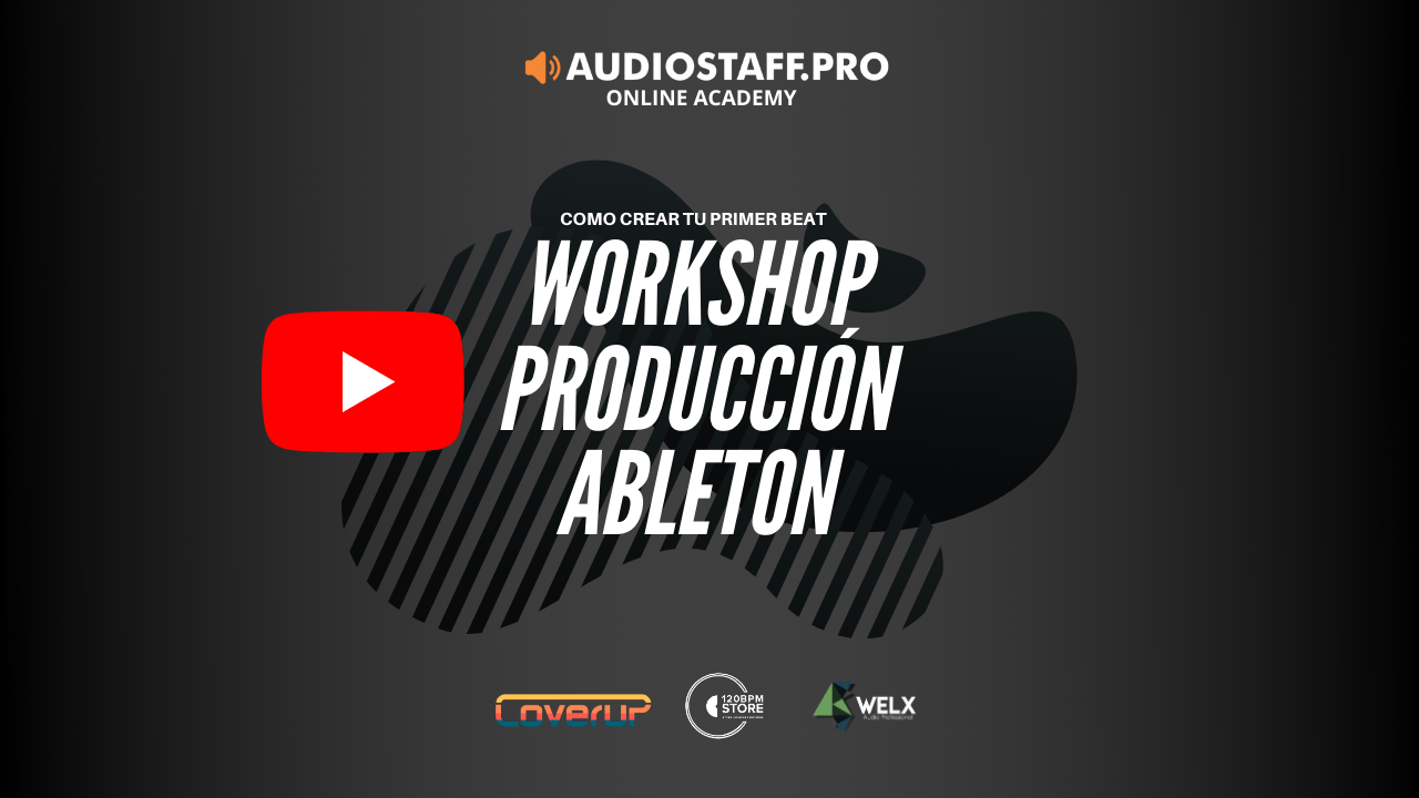 WORKSHOP – Tu primer beat en Ableton Live